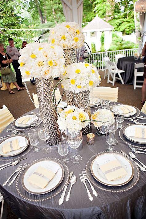 Yellow and Grey Wedding Theme   Wedding Flair