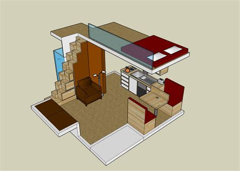 small house plan loft exploiting spaces house plans