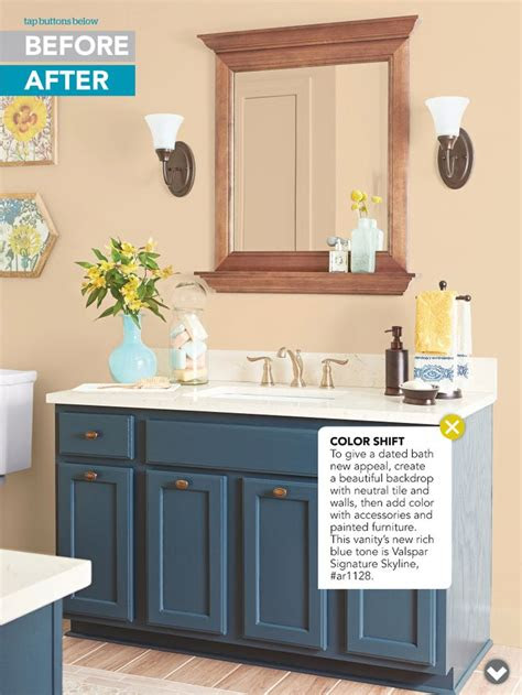 paint bathroom vanity craft ideas pinterest guest