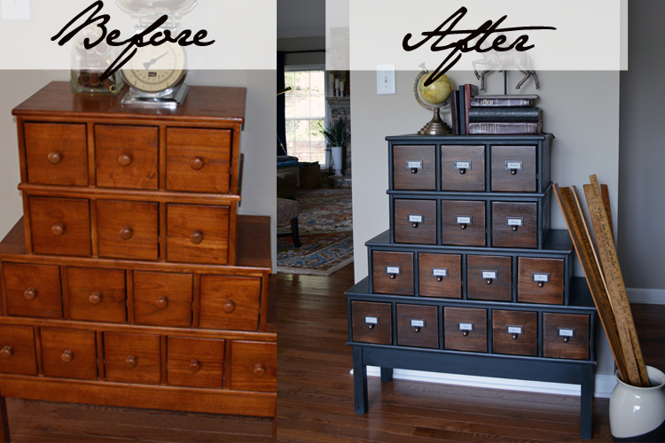 Apothecary Before & After