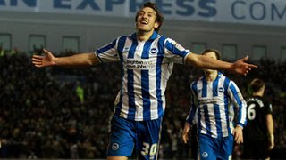 Brighton winger Will Buckley