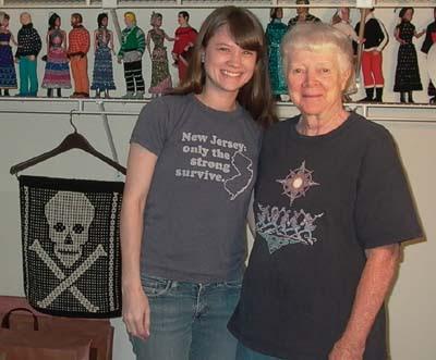Barbara Walker and I
