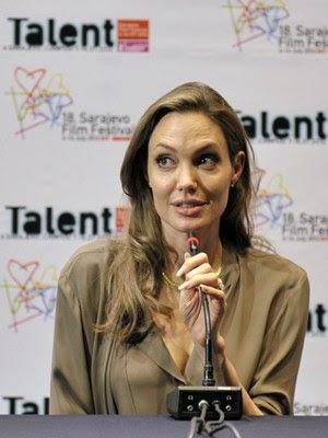 A atriz já esteve em Sarajevo antes para participara de Festival de Filme  (HANDOUT)