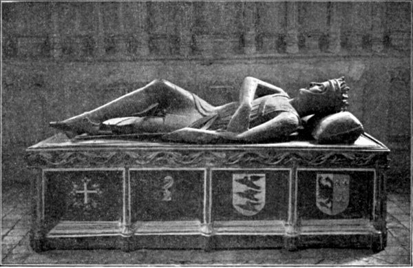 TOMB OF ROBERT CURTHOSE.