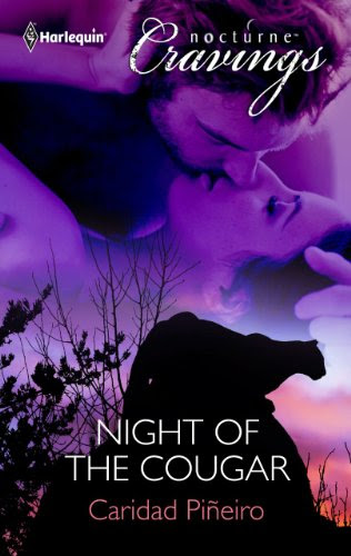 Night of the Cougar by Caridad Pineiro