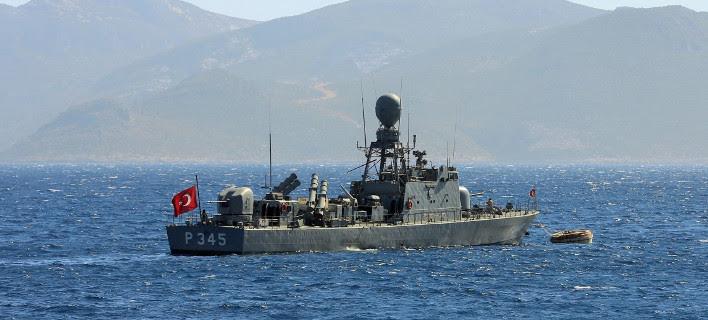 Πρόκληση στο Αιγαίο: Τουρκικό πολεμικό πλοίο έκανε βολές κοντά στο Φαρμακονήσι