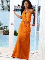 Victoria's Secret Cotton jersey maxi dress