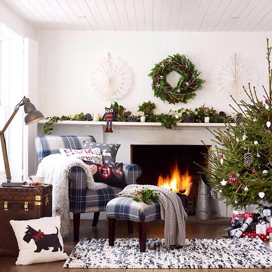 Cosy Christmas Living Room Ideas🎄🎄🎄  Trusper