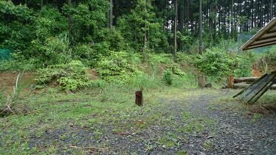 木工小屋予定地
