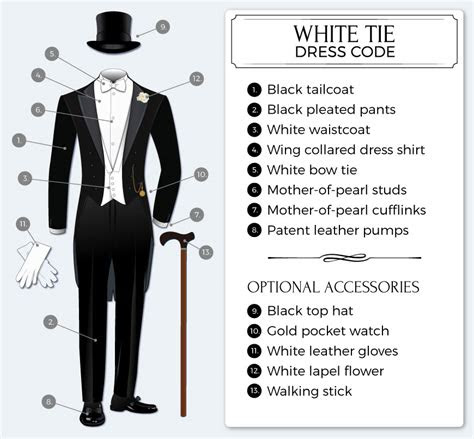 formal white tie dress code bows  tiescom