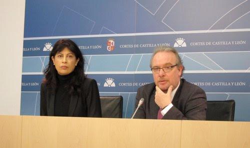 Ana Redondo y José Francisco Martín