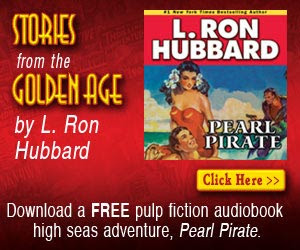 Download an Original Pulp fiction audiobook high seas adventure, Pearl Pirate  - Click here for details...