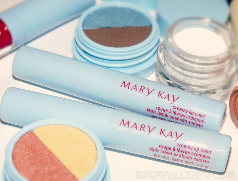 Mary Kay Hello Sunshine Creamy Lip Colour- Carfree Coral and Retro Rose (4)