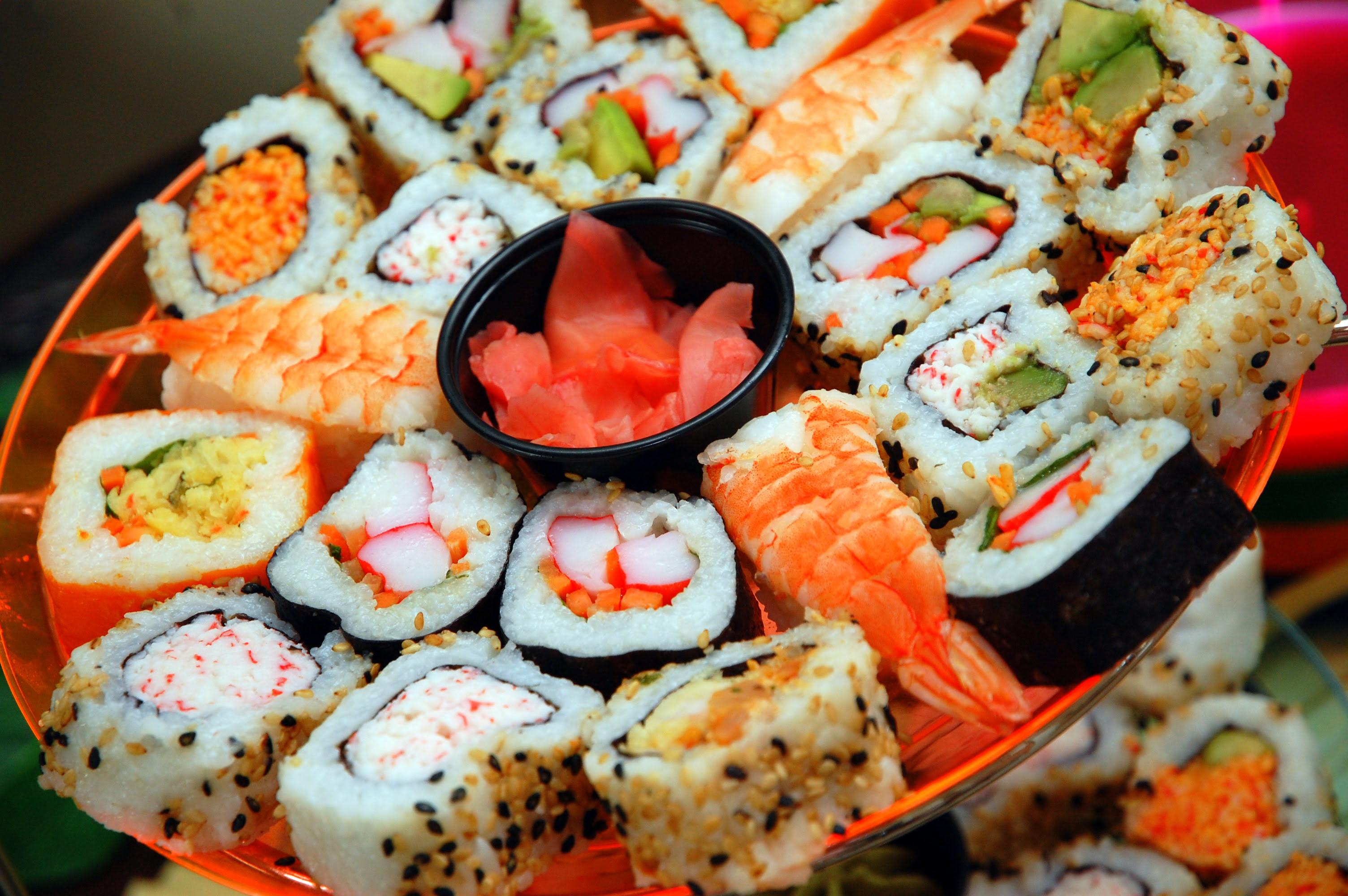 File Assortment of sushi May 2020 jpg Wikimedia Commons