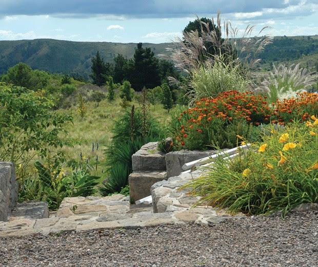 Un jardín en las sierras cordobesas, decoracion, paisajismo, terraza