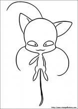 Disegni Di Miraculous Le Storie Di Ladybug E Chat Noir Da Colorare