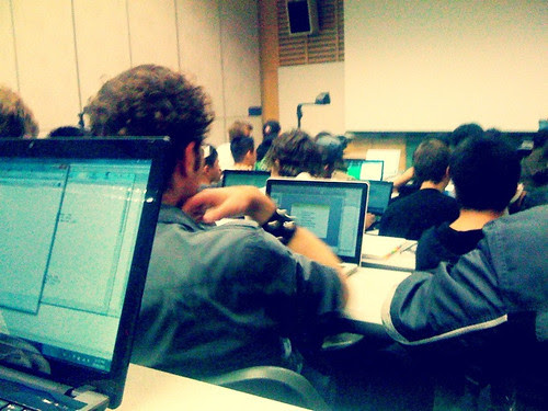 A Sea of Laptops During a Lecture by TylerIngram, on Flickr