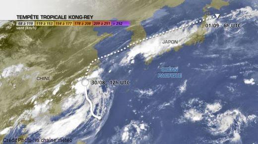 Tempête tropicale Kong-Rey