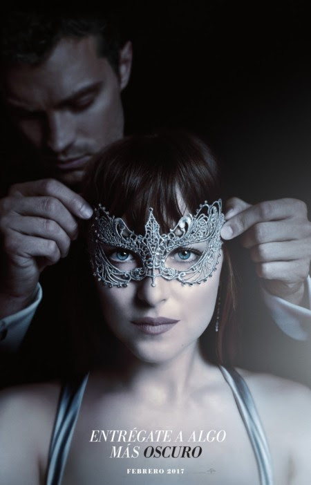 Teaser póster de Cincuenta Sombras Más Oscuras