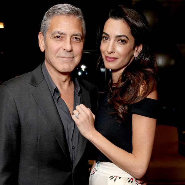 Image result for george clooney charitable contributions