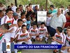 Campo do San Francisco revitalizado é entregue a esportistas de Itatiba