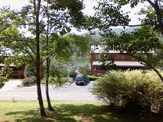 Lake view from porch