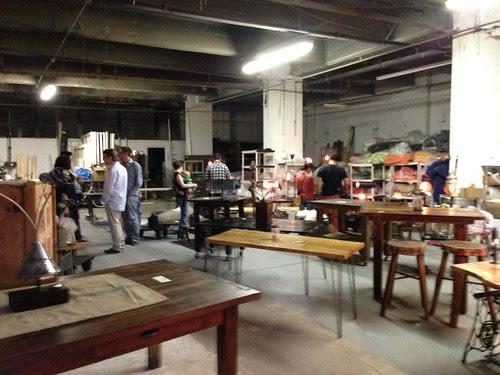 An amazing studio space, JC Artists' Studio Tour