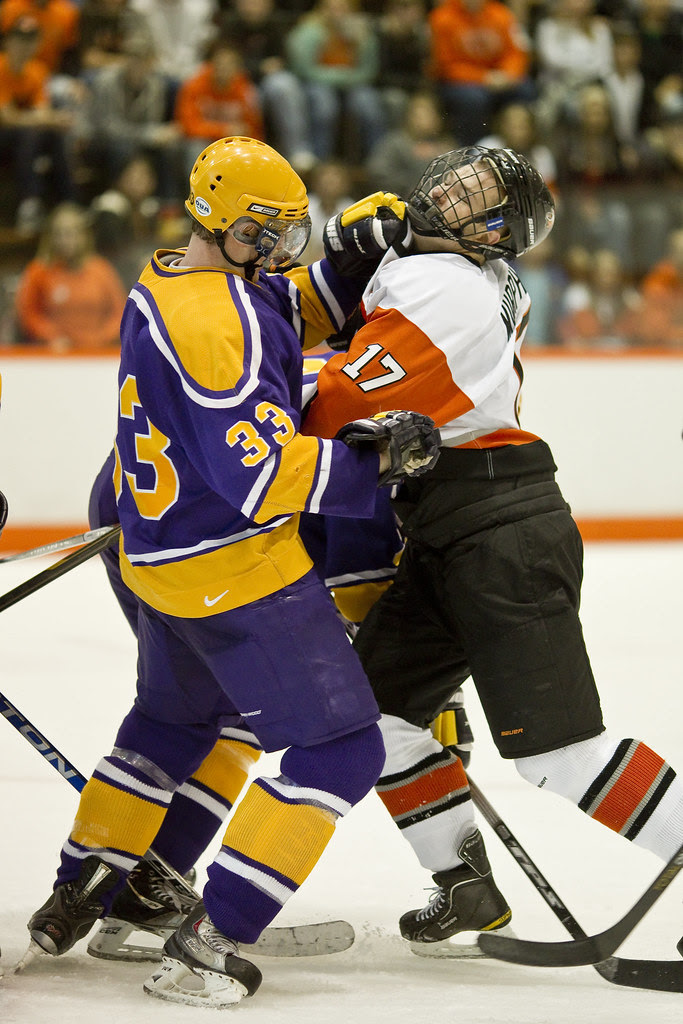 Rob Shook | Blog: RIT Hockey: Exhibition Opener vs Wilfrid Laurier