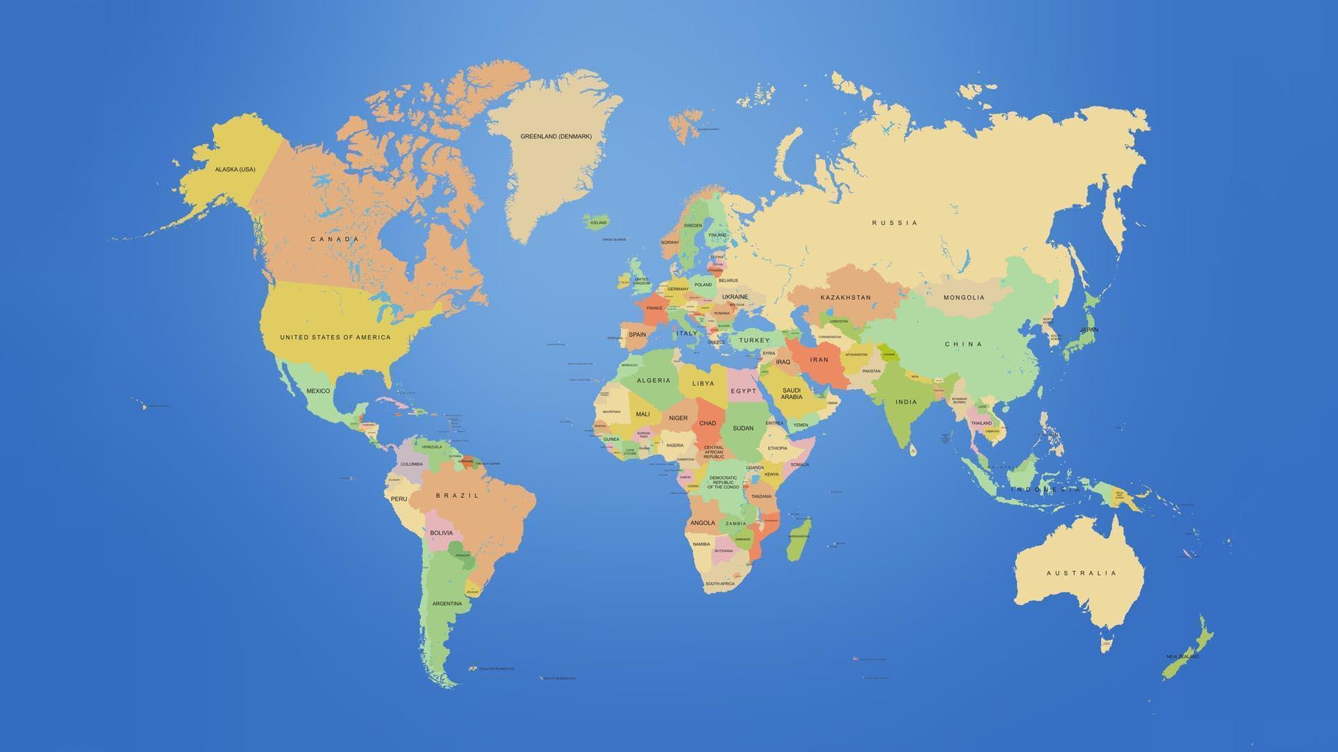 World Map Desktop Backgrounds - Wallpaper Cave