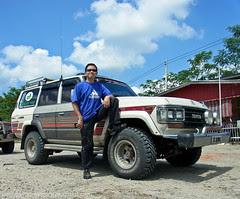 4WD for transportation from Tawau airport - Maliau Basin return R0011953 copy
