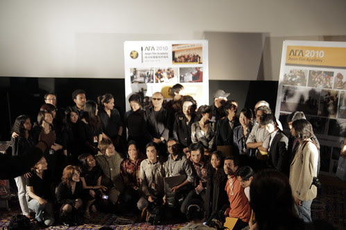 This year's Asian Film Academy participants