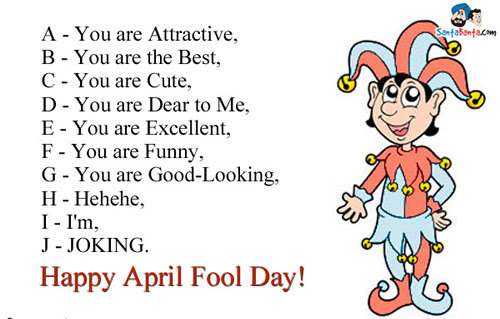 Happy April Fool Day Daily Inspirations For Healthy Living