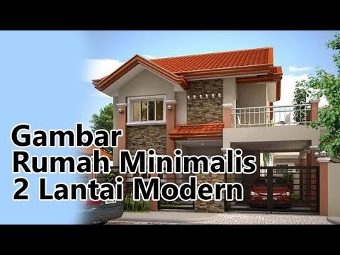 minimalis modern tampak model depan rumah minimalis sederhana