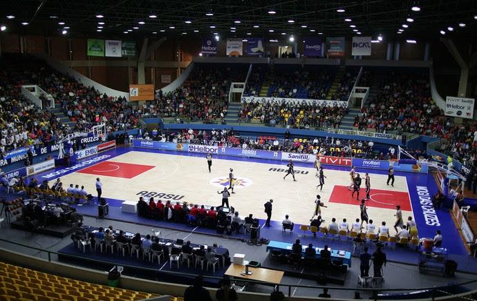 Estádio Hugo Ramos, Caldeirão, basquete (Foto: FIBA)