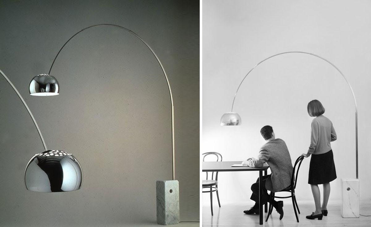 arco floor lamp castiglioni flos 5