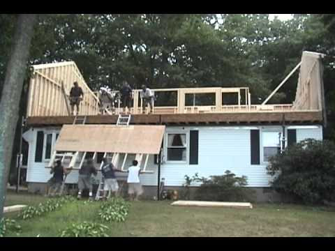 Raising the Roof in 1 day - YouTube