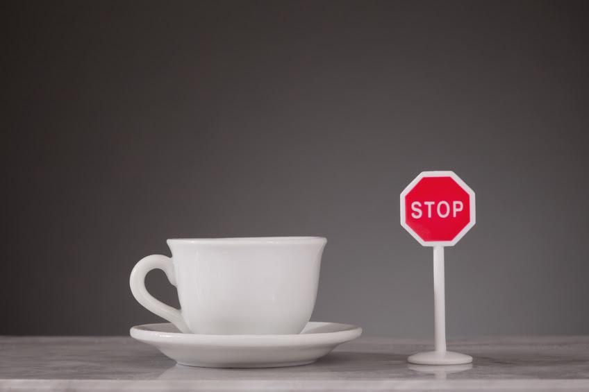 Ngừng uống cà phê