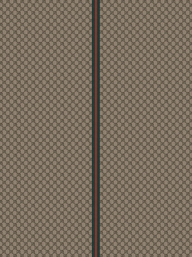 Backgrounds - Gucci Pattern Fabric Beige Brown - iPad ...