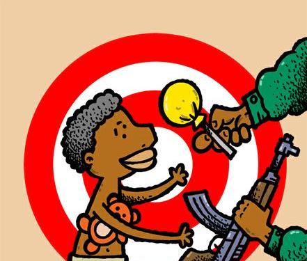 Innocent Children Cartoon