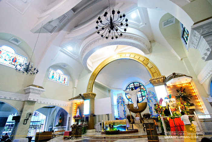 The Altar at Iligan City's Pink Cathedral