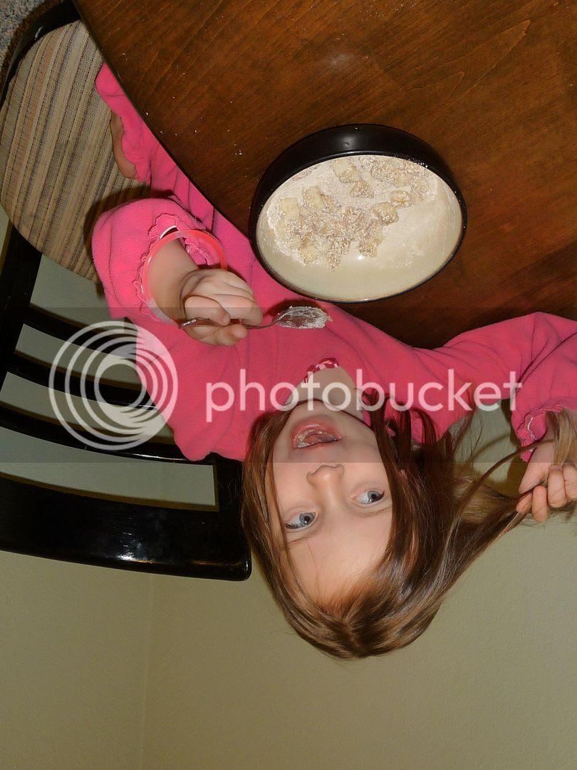 homemade baby oatmeal-covered bananas