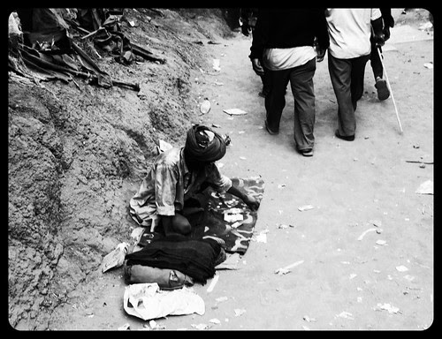 A beggar  is somebody who sells  things that people don't need to have. by firoze shakir photographerno1