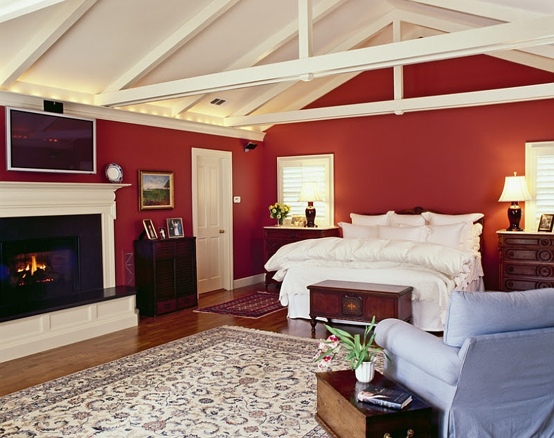 23 Bedrooms That Bring Home the Romance of Red