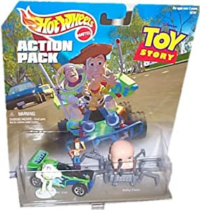 Amazon.com: Hot Wheels Action Pack TOY STORY with RC CAR ...