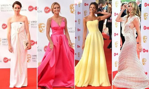 BAFTAs 2018: Estrelas colocadas no tapete vermelho na TV Awards