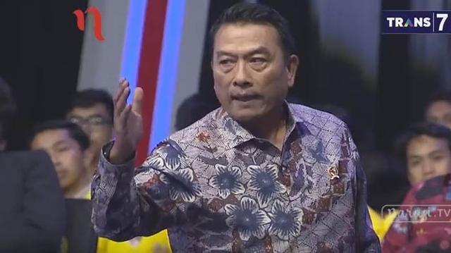 Moeldoko Jadi 'Bintang' Mata Najwa, Bukan Zaadit Taqwa, Netizen Sebut : Juoosss