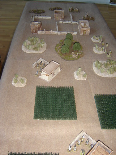 British break off from central position