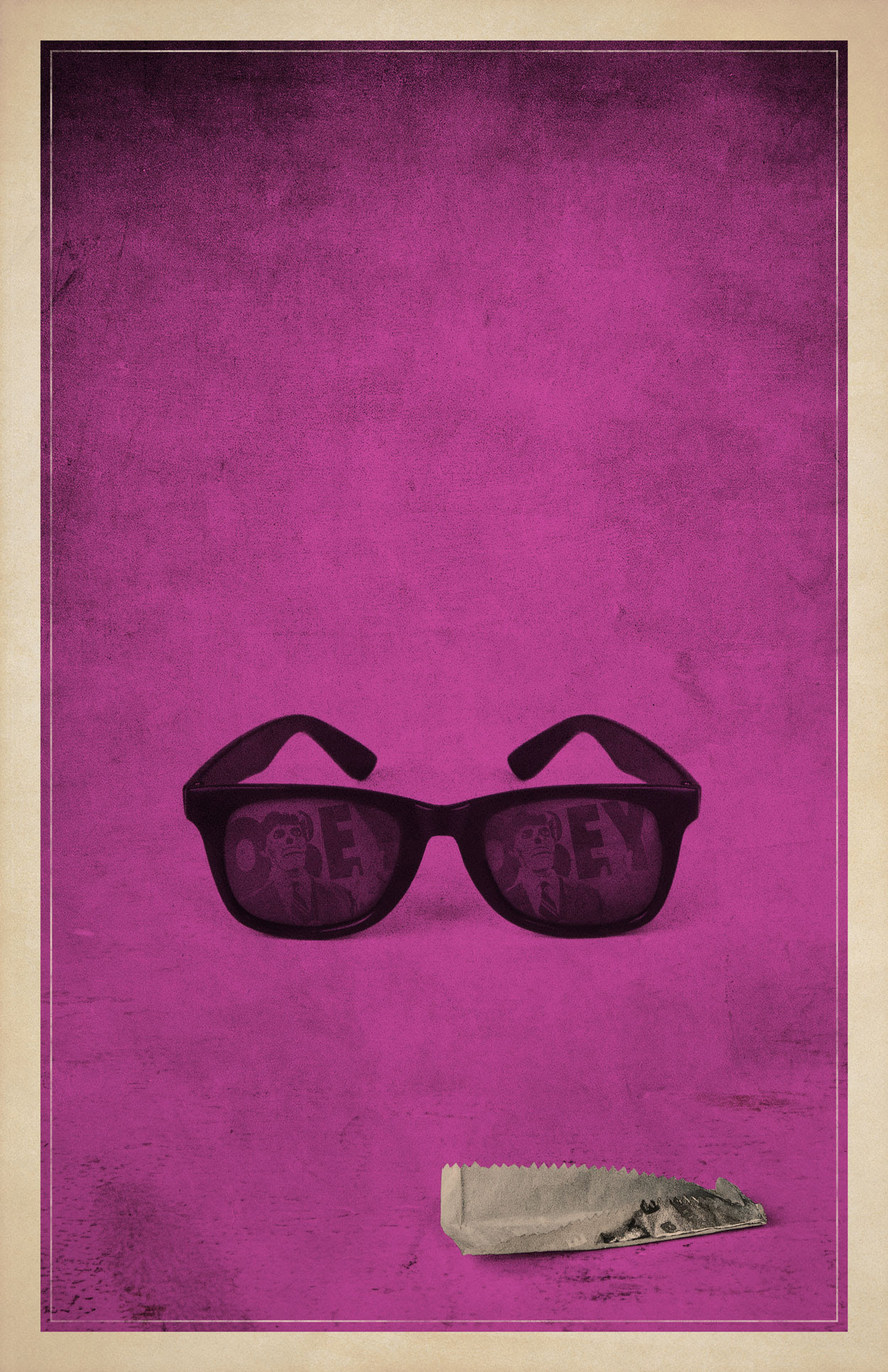 They Live Minimalist Poster