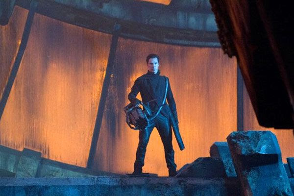 Khan (Benedict Cumberbatch) has a vendetta against the Federation in STAR TREK INTO DARKNESS.