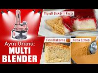 Mutfak Aletlerinizden En Yüksek Verimi Alın! İşte 5 Enfes Tarifle Bu Ayın Ürünü: Multi Blender Set - Yemek.com